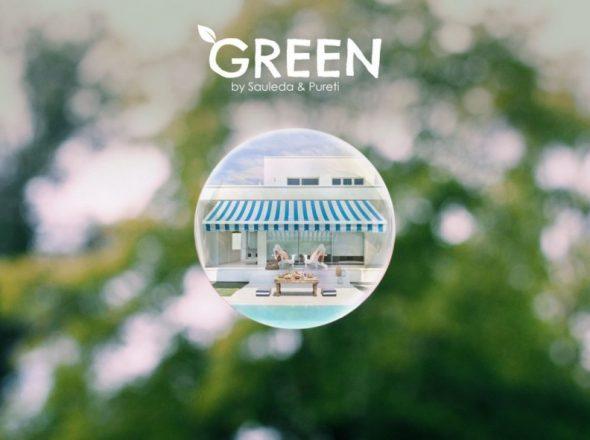 Sauleda lansează Green, primul material textil care curată si purifică aerul prin fotocataliză
